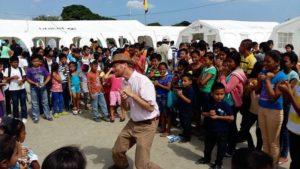 Применение EFT в работе волонтеров в Эквадоре