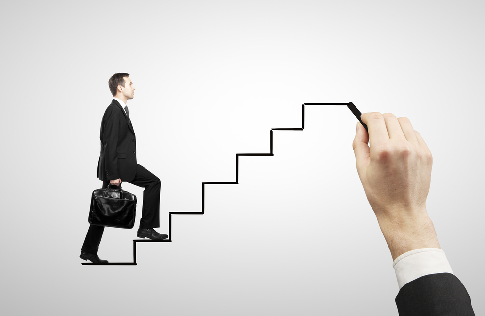 Предприниматель поднимает свой бизнес на новый уровень используя таппинг